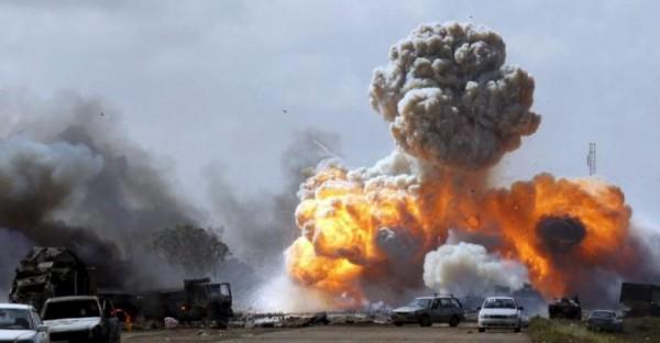 قتلى وجرحى في قصف مركز ايواء اللاجئين الأفارقة بليبيا