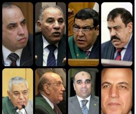 من القائمة السوداء لقضاة مصر
