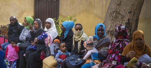 80 % من اللاجئين في مصر يعيشون في أوضاع إنسانية بائسة