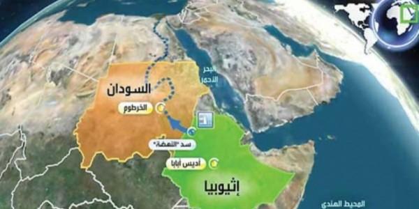 خريطة النيل