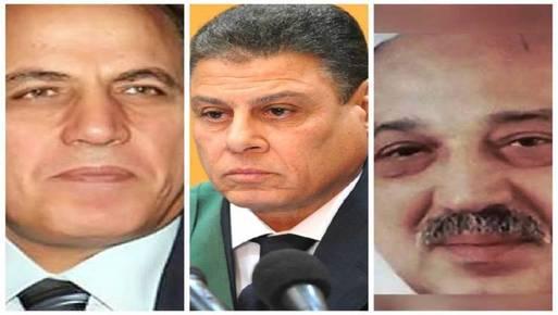 حسام صادق وزكريا عبد العزيز عثمان ومحمد شيرين فهمي يختار السيسي من بينهم النائب العام