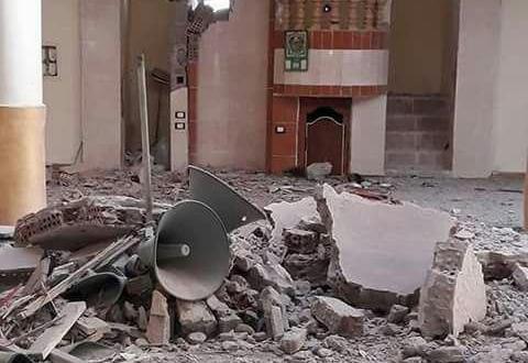 هدم مسجد أبو الإخلاص الزرقاني بمنطقة غيط العنب بالإسكندرية