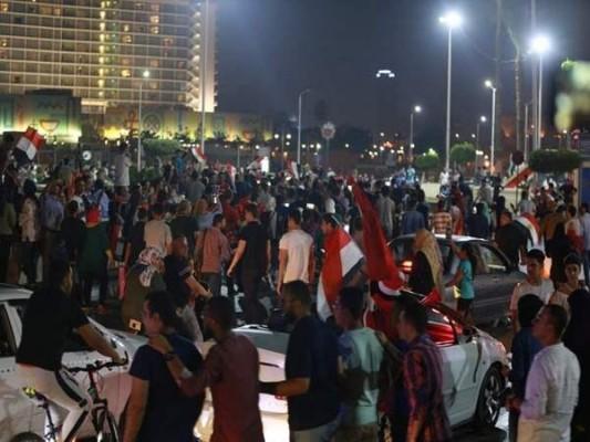 مظاهرة في ميدان التحرير ضد السيسي