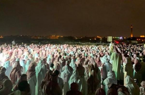 جنازة فهد القاضي الي مات في سجون السعودية