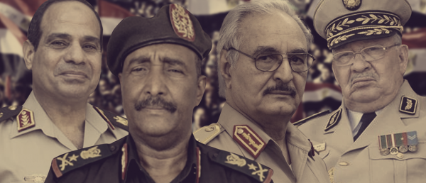 العسكر العربي لصوص الثورات