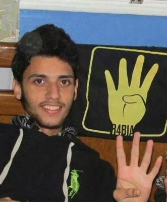 حسن نصر قتل على أيدي الشرطة المصرية أثناء إحدى المظاهرات