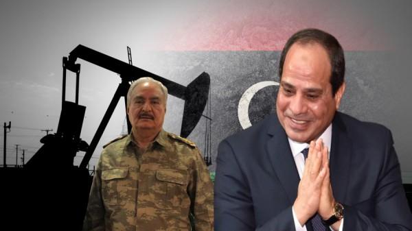 حفتر يسعى إلى توريط السيسي في ليبيا