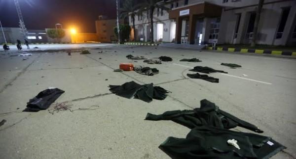 قتل 28 من طلبة الكلية العسكرية بطرابلس بقصف مصري إماراتي