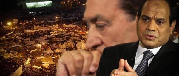 السيسي إرث مبارك الأكثر قمعًا وإجرامًا وخضوعًا للغرب