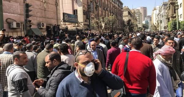 وقف صلاة الجماعة بمساجد مصر