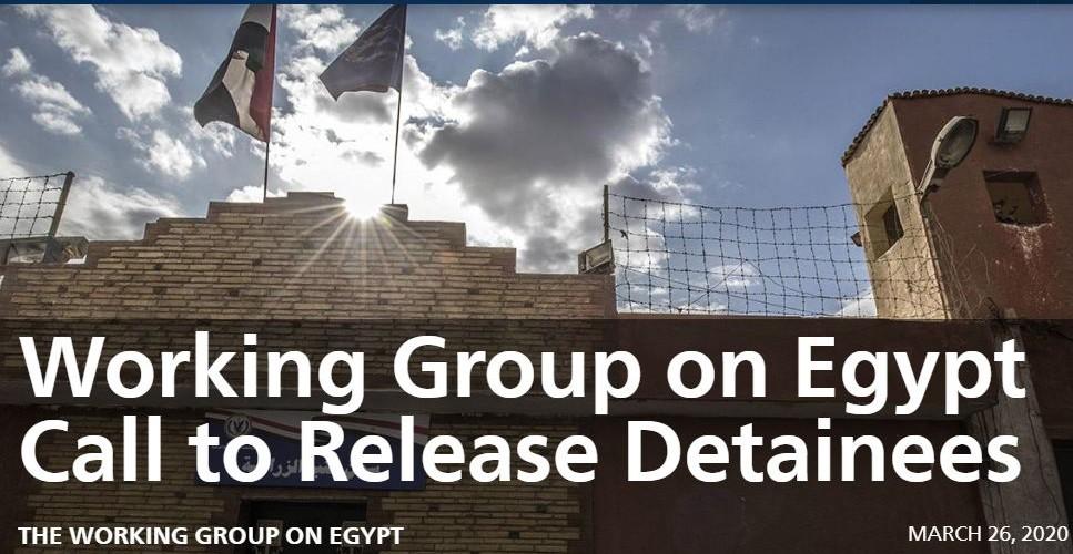 مجموعة العمل الأمريكية تدعو ترامب إلى التدخل الفوري لإطلاق معتقلي السجون في مصر