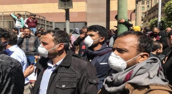 إصابة عمال بكورونا في عاصمة السيسي بؤرة الوباء