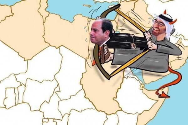بن زايد يورط السيسي في ليبيا