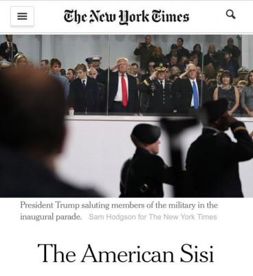 """نيويورك تايمز: ترامب """"سيسي أمريكي"""" وخيوط تناقل خبرات بينهما"""