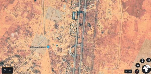 الأقمار الصناعية تكذب السيسي وتكشف سحب طائرات حربية مصرية من قاعدة سيدي براني