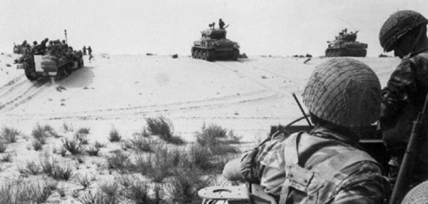 """السيسي يعيد إسرائيل لسيناء بعد 53 عامًا من """"النكسة"""""""