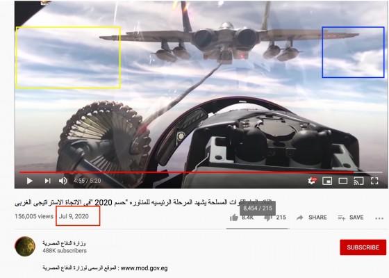 صور مناورات الجيش المصري على حدود ليبيا قديمة
