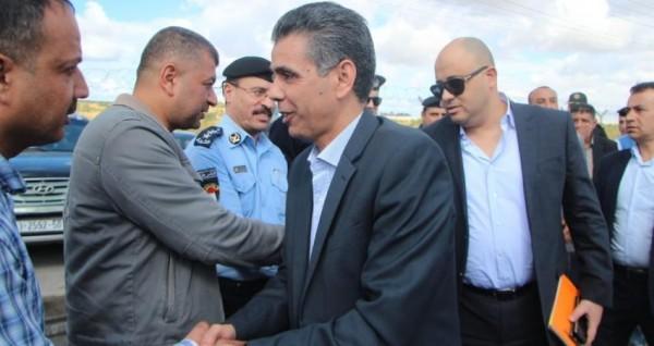 الوفد الأمني المصري الذي وصل غزة أمس