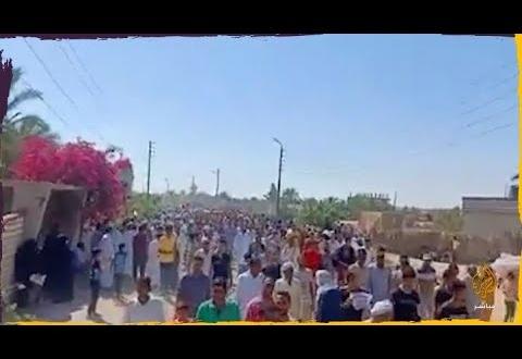 مهجرون من قرى شمال سيناء يطالبون السيسي بحق العودة